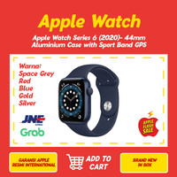 Apple Watch Series 6 2020 44mm Aluminum Case with Sport Band GPS