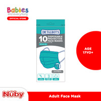 Nuby Face Mask Disposable for Adult & Kids 1