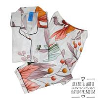 piyama wanita soft katun premium JUMBO LD 120 / setelan baju tidur CP