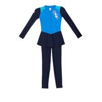 Opelon - Baju Muslim Renang Anak Ortensia Blue