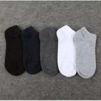 kaos kaki pria pendek size 40-43 - Hitam