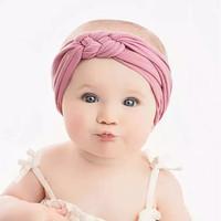 headwrap bandana kepang bando cantik 0-2 thn