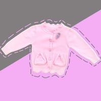Baju Sweater Rajut Cardigan Atasan Anak Perempuan Import Real Pic No23 - SIZE 4