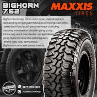 Ban JIP landrover 255/85-16 8pr Maxxis Bighorn MT 762 Dcab Jeep SUV