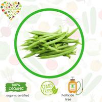 sayur organik - baby buncis organik 250 gram