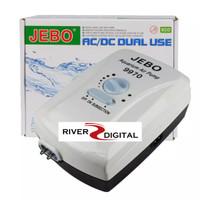 JEBO 9970 AC DC ACDC Pompa Aerator Udara / Air Pump Portable Aquarium