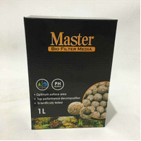 Master Bio Filter Media 1L Rumah Bakteri Aquarium