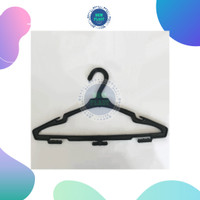 Hanger Baju Plastik - Kamo (1 Dosin)