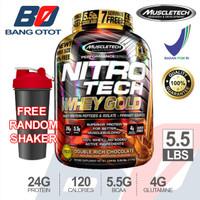 Muscletech Nitrotech Gold Whey 5.5 Lbs Nitro Tech Susu Fitness Whey