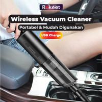 Rokeet Vacuum Cleaner Mini Penyedot Debu Mini Car Vacuum Cleaner