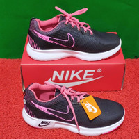 Sepatu Nike Terbaru Dan Terlaris Warna Hitam Kombinasi Pink