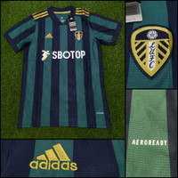 Jersey Kaos Baju Bola Leeds United Away 20/21 2020/2021 Grade Ori