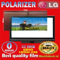 Polarizer tv LG 32inc polarizer lcd LG 32inc plastik polaris tv LG 32