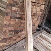 balok 6x12. 2.meter bahan kusen kayu akasia manium