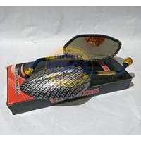 Kaca Spion Beat Carbon Tangkai Twotone Motor Honda - Spion Karbon Hond
