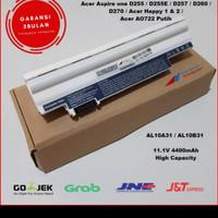 Baterai Battery Acer Aspire One 522 D255 D257 722 D260 AL10B31