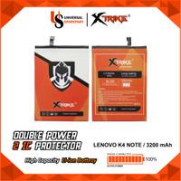 Baterai XTRIKE Double Power BL256 LENOVO VIBE X3 A7010 K4 NOTE
