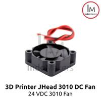 DC Mini Cooling Fan 3010 24V for 3D Printer / Computer 2 pin