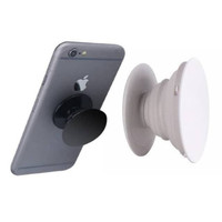 Pop Socket Polos Hitam Putih Phone Holder Pegangan Hp Kaitan Belakang