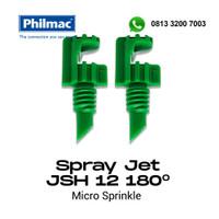 Spray Jet JSH12 180 derajat hijau