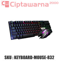 Gaming Keyboard LED with Mouse