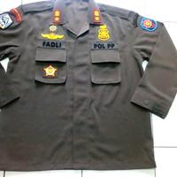 Baju setelan PDL POL PP lengkap