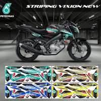 Striping Decal Sticker Variasi Yamaha Vixion New Petronas