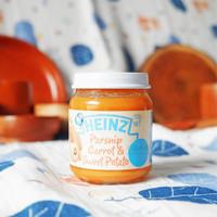 Heinz Jar Parsnip, Carrot & Sweet Potatoes 110 gram