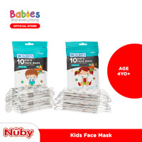 Nuby Face Mask Disposable for Adult & Kids 2