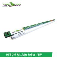 Reptizoo UVB T8 Light Tubes 18W 600mm - Lampu Reptil