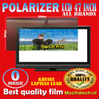 Plastik polarizer 47inch plastick polaris lcd 47 inch 0 derajat