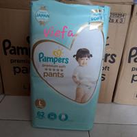 Pampers premium active baby care pants L62 / Popok Celana L 62 / L-62