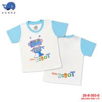 Baby Kenaz Little Robot T-Shirt Kaos Oblong Anak Bayi 1-3 Tahun