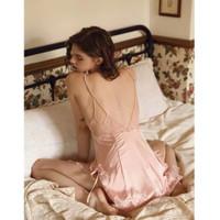 Venus Leon ~ Felicia Pink Premium Sexy Lingerie Baju Tidur Wanita