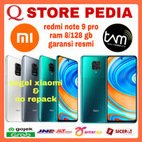 XIAOMI REDMI NOTE 9 PRO RAM 8/128 GB GARANSI RESMI
