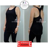 Tanktop Olahraga Wanita (Fitness,Zumba,Yoga) FULL NET BACK
