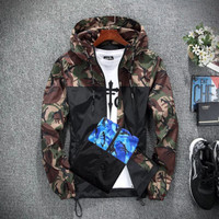 X-Urband Official - Jaket Windbreaker Sublime Loreng Pria Army A077