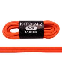 KipzKapz Shoelace Tali Sepatu Fluorescent Oval 6mm Solar Orange 140cm