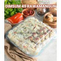 DIMSUM 49 RAWAMANGUN ISI 100 PCS / DIMSUM HALAL/ FROZEN FOOD