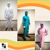 Baju hazmat coverall medical grade medis suit APD re-useable