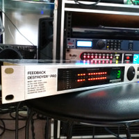 Feedback Destroyer Pro Anti Feedback Behringer DSP1124P