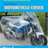 SELIMUT BODY COVER MOTOR PLASTIK TRANSPARAN ANTI AIR PANAS WATERPROOF