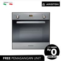 ARISTON Oven Tanam 60 Cm FHYGGX Full Oven Gas 47 Liter