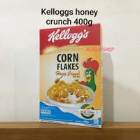 Kelloggs corn flakes honey crunch cornflakes 400 cereal sereal kellogs