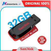 Flashdisk Sandisk Cruzer Blade 32Gb Ori Flash Disk 32gb USB Flashdrive