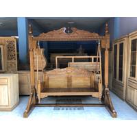 ayunan kayu jati jepara modern