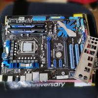 Asus P7P55D 1156 P55 + Intel Core i5 750 + Corsair XMS3 2x1gb DDR3