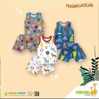 Baju Anak Bayi Velvet Junior Singlet / Pakaian Baby SNI