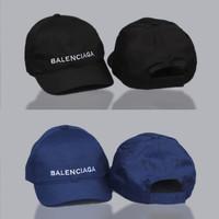 Topi dadhat balenciaga Font Logo