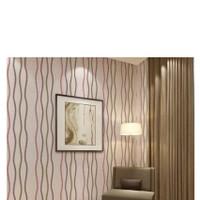 wallpaper stiker dinding murah motif salur warna elegan uk 45x10meter